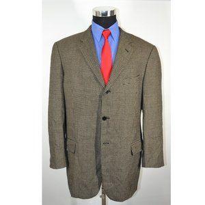 Joseph Abboud 44R Sport Coat Blazer Suit Jacket Li